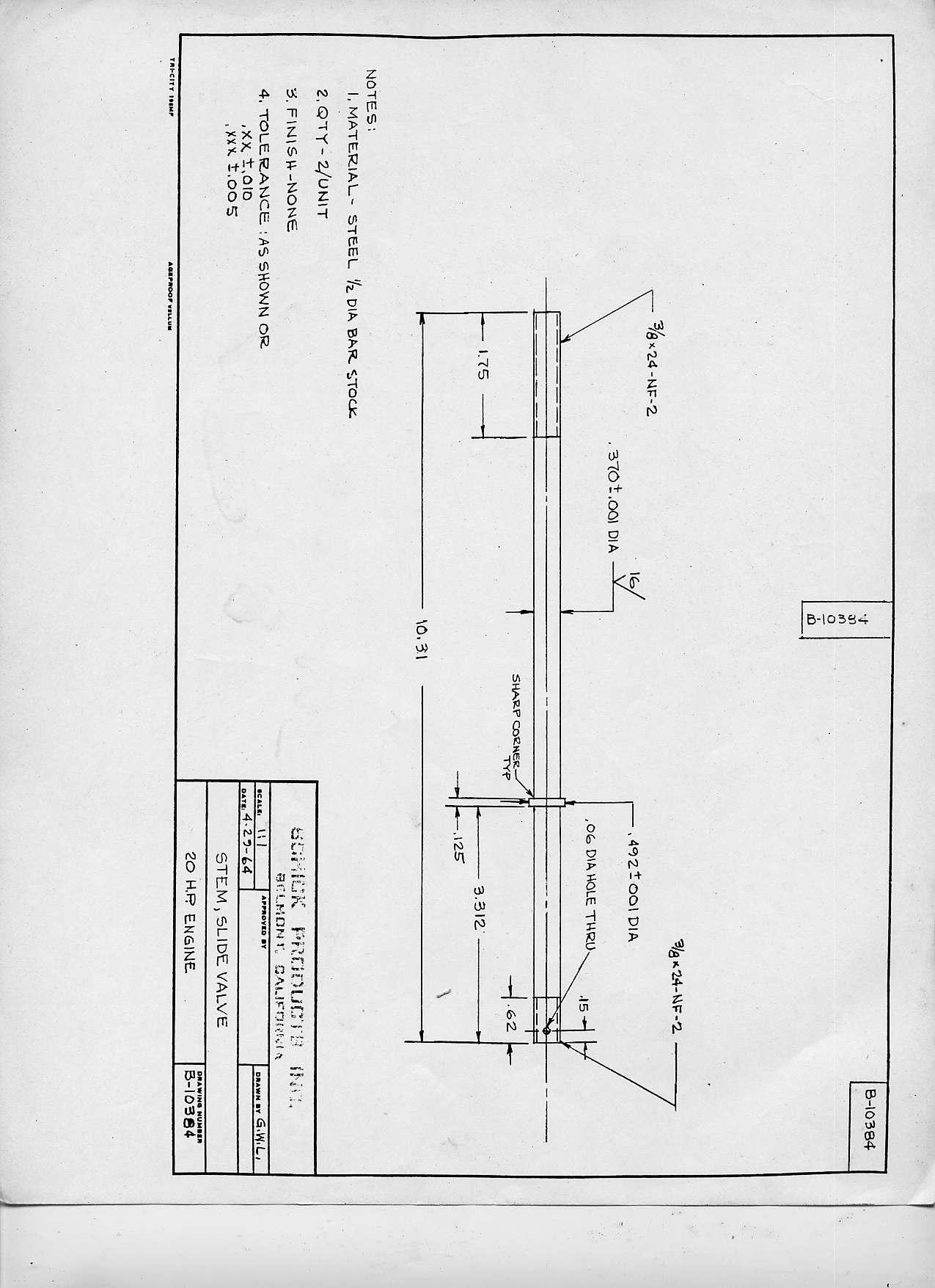 Simple Slide Valve Design For Model Steam Engine Valves Diagram Stanley740valvestem