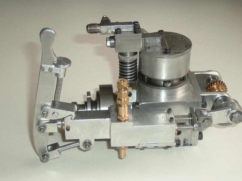 Model Boat Flash Steam Power Plant